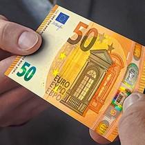 Tờ 50 Euro mới cực kỳ an toàn đi vào lưu thông