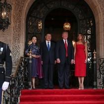Donald Trump đón tiếp trọng thị ông Tập Cận Bình tại Florida