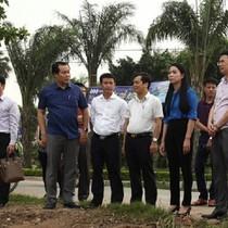 Bí thư Tỉnh ủy Vĩnh Phúc kiểm tra dự án và làm việc với Tập đoàn FLC