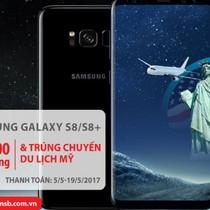 Hoàn tiền như ý, đi du lịch Mỹ khi mua Samsung Galaxy S8/S8 Plus với thẻ Quốc tế Maritime Bank
