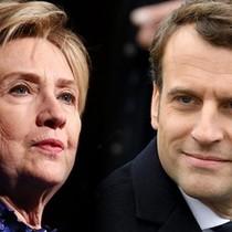 Vì sao bà Hillary Clinton thua còn ông Macron lại thắng?