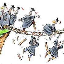 Trình độ chuyên môn càng cao, tỷ lệ thất nghiệp càng lớn