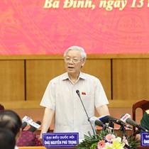 Tổng bí thư Nguyễn Phú Trọng: Xử lý ông Đinh La Thăng mới chỉ về mặt đảng