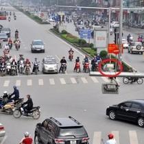 Camera giao thông Hà Nội bắt lỗi kiểu khác lạ