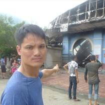 Cháy chợ cửa khẩu Tân Thanh: Nhiều tiểu thương trắng tay