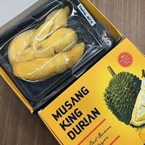 """Sầu riêng Malaysia """"giá khủng"""" 1,5 triệu/kg vẫn hút người mua"""