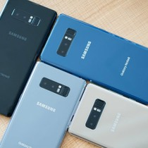 So sánh kích thước của Samsung Galaxy Note 8 với các đối thủ cùng phân khúc