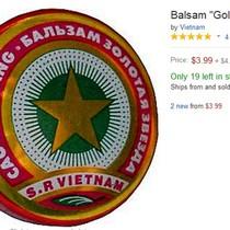 """""""Cao Sao Vàng 2.000 đồng"""" cháy hàng trên các website bán hàng quốc tế"""