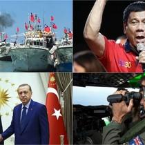 Thế giới 24h: Tàu quân sự hộ tống tàu đánh cá Đài Loan, Campuchia điều tra âm mưu đảo chính