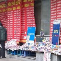 Hàng nước, tiệm tạp hóa của cá nhân sẽ không được bán SIM di động