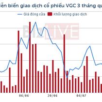 Viglacera là điểm nhấn đấu giá của HNX trong tháng 7