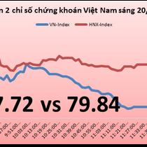 Chứng khoán sáng 20/12: Khối ngoại lại xả VNM, VN-Index mất hơn 6 điểm
