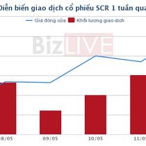 [Cổ phiếu nổi bật tuần] Sóng bất động sản kéo dài, SCR tăng gần 30% trong vòng 2 tuần