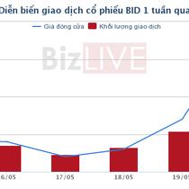 Chứng khoán chiều 22/5: BID, SCR trở lại đường đua, HNX giao dịch hơn 1.000 tỷ đồng