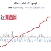 [BizSTOCK] NAV của E1VNVF30 lên trên 1.300 tỷ đồng