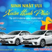 Gửi 5 triệu nhận ô tô Toyota Corolla Altis