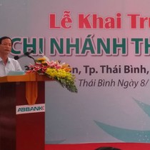 ABBank khai trương chi nhánh Thái Bình