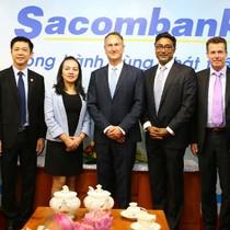 Thẻ Sacombank Visa thuộc Top 3 tại thị trường Việt Nam