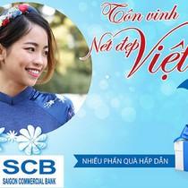Quà tặng tôn vinh phụ nữ Việt cùng SCB