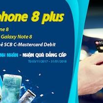 Quẹt thẻ ngay - cơ may nhận iPhone 8 Plus
