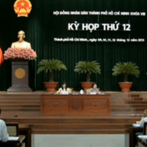 Tp. Hồ Chí Minh: Khai mạc kỳ họp thứ 12 HĐND khóa VIII
