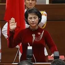 Điểm mới trong lễ tuyên thệ của Chủ tịch Quốc hội Nguyễn Thị Kim Ngân