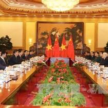 Việt-Trung ký kết 15 văn kiện hợp tác trong chuyến thăm của Tổng bí thư