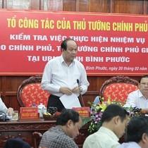 """Chủ tịch Bình Phước: """"Chúng tôi nhận lỗi trước Thủ tướng"""""""
