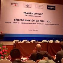 VEPR dự báo GDP Việt Nam cả năm 2017 tăng 6,1%