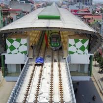 Đường sắt Cát Linh - Hà Đông xuất hiện vết nứt dài: Ban quản lý nói gì?