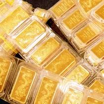 Giá vàng SJC trong nước tiếp tục lao dốc