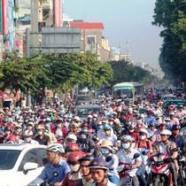 Hơn 90% người dân Hà Nội đồng ý việc cấm xe máy trong nội đô