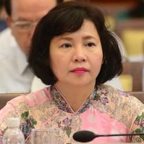 Đề nghị miễn nhiệm các chức vụ hiện nay của bà Hồ Thị Kim Thoa