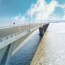 Khắc phục xong loạt sai sót ở cầu vượt biển dài nhất Việt Nam