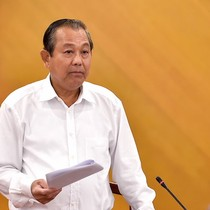 Phó thủ tướng Trương Hòa Bình lên đường thăm Trung Quốc