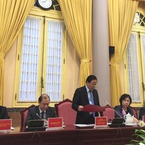Công bố Lệnh của Chủ tịch nước về 6 Luật mới vừa được thông qua