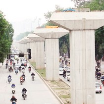 Dự án đường sắt Cát Linh - Hà Đông: Nhà thầu Trung Quốc lúng túng