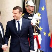 Ông Macron tuyên thệ nhậm chức tổng thống Pháp