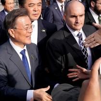 Tổng thống Hàn Quốc thăm Mỹ, hội đàm với tổng thống Donald Trump