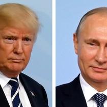 Thăm dò: Ông Putin được tin tưởng hơn ông Trump
