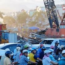 Đà Nẵng: Hầm chui chậm tiến độ, người dân mệt mỏi vì kẹt xe