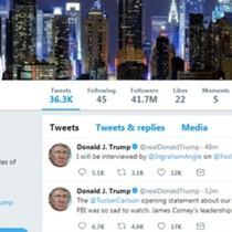 Twitter vô tình khóa tài khoản của Tổng thống Trump