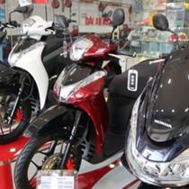 Giá xe máy mùa sát Tết: Honda đội 20 triệu, Yamaha giảm 1-2 triệu