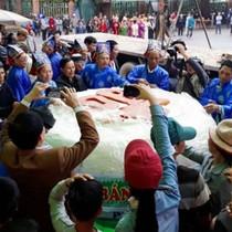 TP. Sầm Sơn đề nghị làm bánh giầy nặng 3 tấn dâng vua Hùng