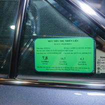 Bắt buộc phải dán nhãn năng lượng trên ô tô từ ngày 1/1/2018