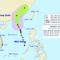 Xuất hiện bão số 1 nhưng không hướng vào Việt Nam