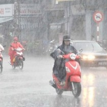 Bắc Bộ và Nam Bộ ngày oi bức, chiều tối và đêm có mưa rào
