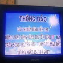Hôm nay, 15 tỉnh đã tắt sóng truyền hình analog