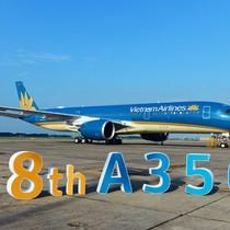 Cận cảnh chiếc siêu máy bay A350-900 thứ 8 của Vietnam Airlines