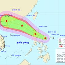 Siêu bão Hato vừa đổ bộ, lại xuất hiện một siêu bão mới trên biển Đông